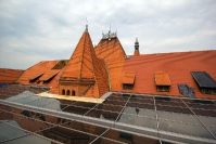 Remont dachu w zabytkowym budynku